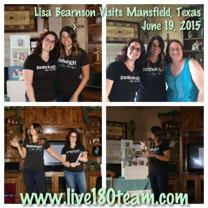 LisaBearnson_VisitingMansfield