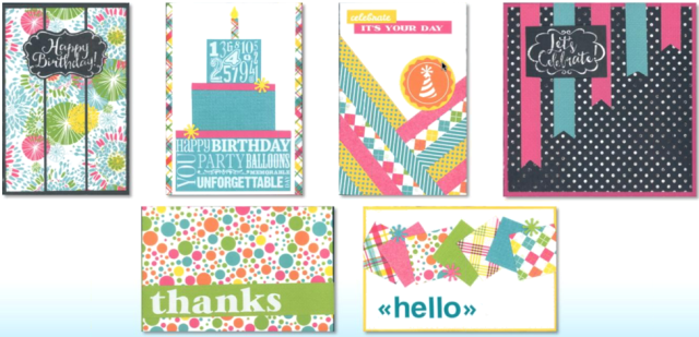 Party Brights Cards
